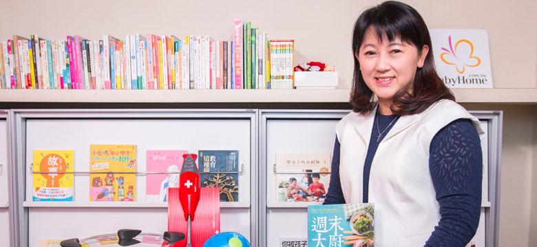 料理讓家庭變得幸福 蔡蕙玲:廚房不該是小孩和男人的禁地