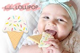 加拿大lollipop超夢幻固齒器,妝點寶寶時尚行頭
